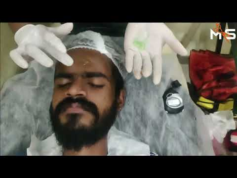 Hygienic Facial Treatment At MS SALON_raaga Facial Video,professional Salon Facial,Facial Treatment.