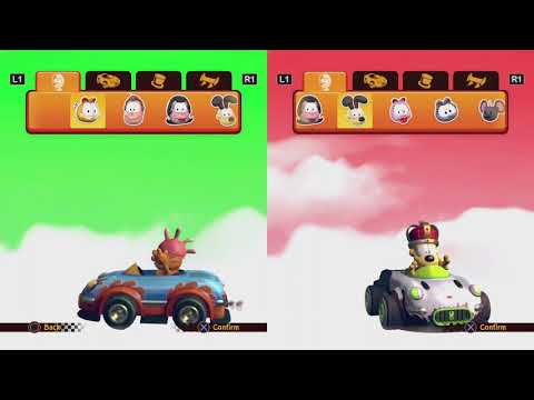 Garfield Kart Furious racing |