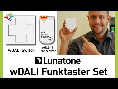 DALI Lichtsteuerung mit Funkschalter nachrüsten und steuern - wDALI Funktaster