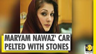 ... former pakistan prime minister nawaz sharif's daughter maryam on tuesda...