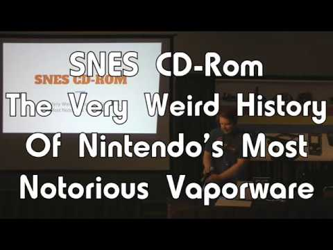 PRGE 2017 - SNES CD-Rom: Nintendo's Most Notorious Vaporware - Portland Retro Gaming Expo 1080p