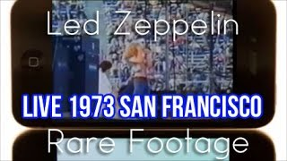 Led Zeppelin RARE LIVE Performance (June 02, 1973)