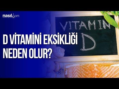 D vitamini eksikliği neden olur? | Sağlık | Nasil.com