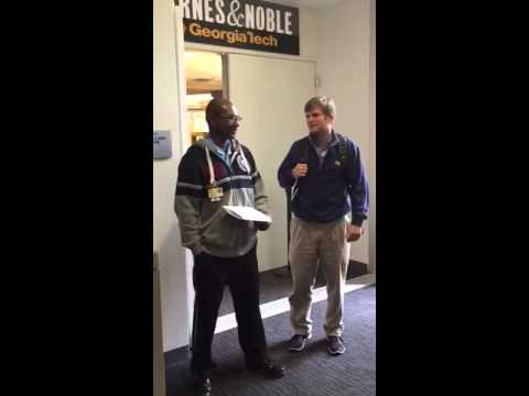Students Surprise Security Guard for the Holidays