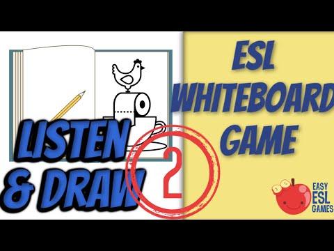 Listen & Draw v 2.1 - Easy ESL Games