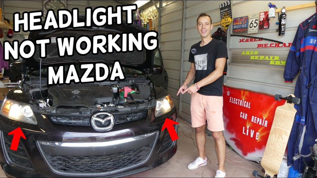 WHY HEADLIGHT NOT WORKING LEFT RIGHT MAZDA 2 3 5 6 CX-3 CX ...