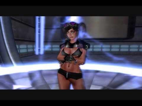 Kelly Osbourne - One Word (SecondLife Music Video)