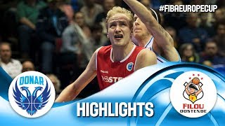 Donar Groningen v Filou Oostende - Highlights - Rd. Of 16 - FIBA Europe Cup 2018-19