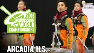 Vic Firth is proud to present ARCADIA HIGH SCHOOL - the 2016 WGI BR...