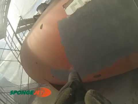 Coating and Spot Corrosion Removal from Operating LP Tank