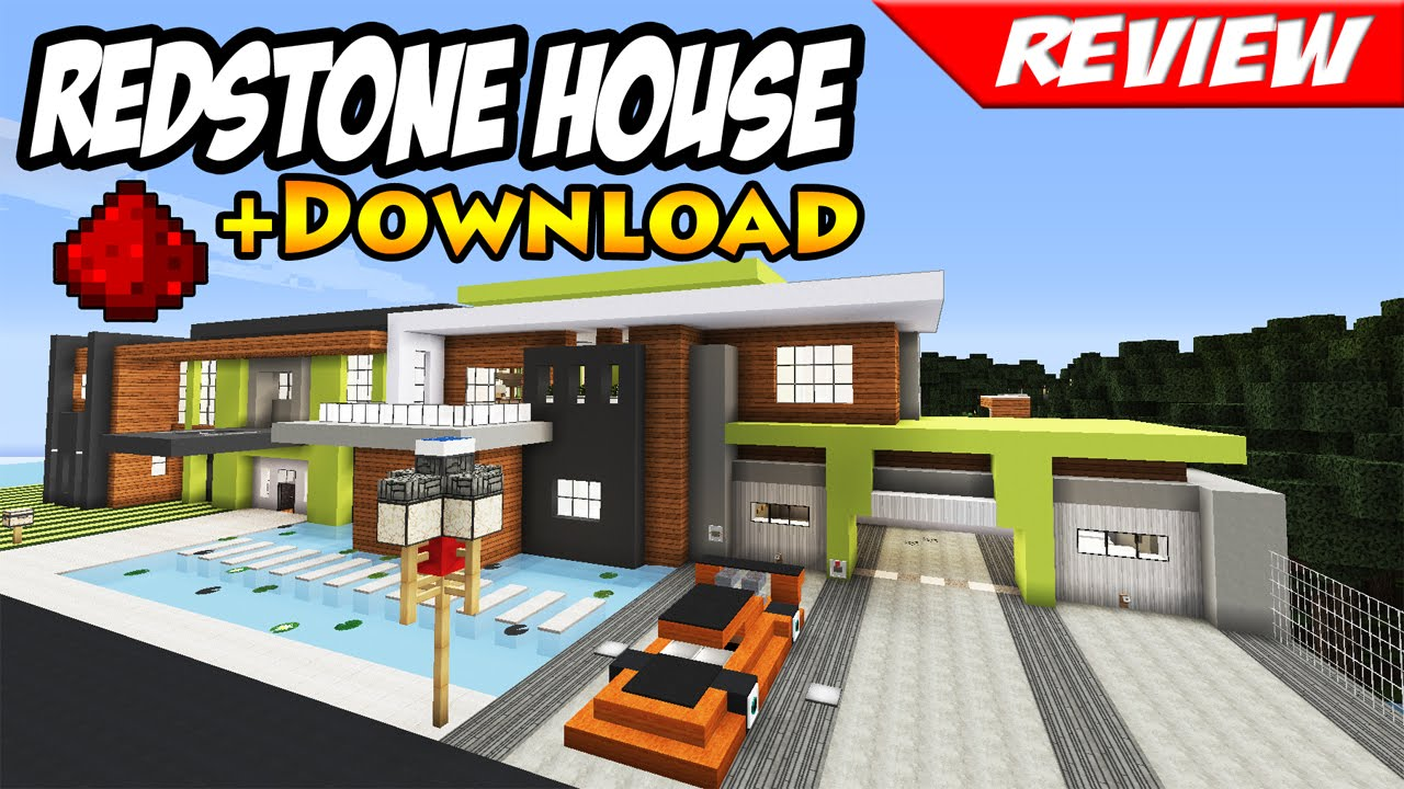 Minecraft best modern redstone house download smart house minecraft best modern redstone house download smart house youtube sciox Choice Image