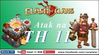 Clash of Clans PL WAR - th11, eagle artillery, grand warden, dragons, dragons, dragons ...