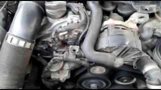видео 272 двигатель мерседес после 5 минут прогрева стучит