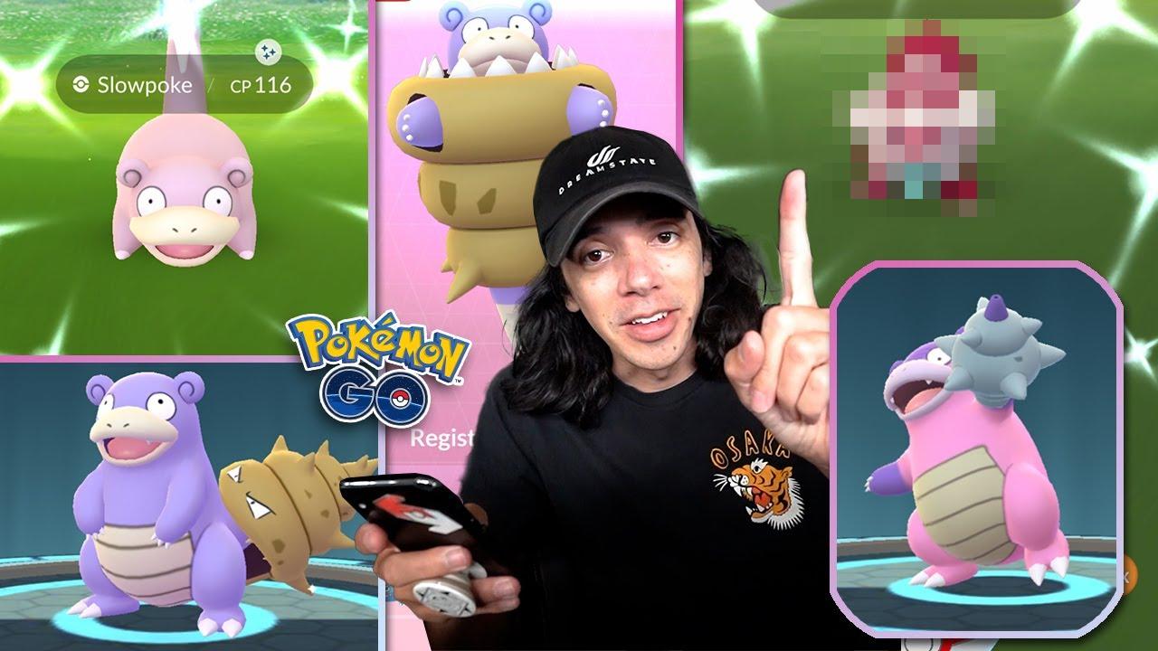 I BEAT THE NEW SLOWPOKE EVENT IN ONE DAY! (Pokémon GO)