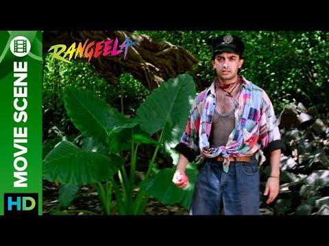 Fight over cricket on set Rangeela | Aamir...