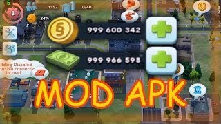 SimCity BuildIt | No Root Android/Iphone | Unlimited Coins & Keys & Cash 2018 No Root Android/Iphone