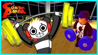 Roblox Ro-Lifting Simulator DO YOU EVEN LIFT, BRO Let's Play with Combo Panda