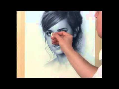 Nghệ thuật vẽ chân dung 3D rất sống động !