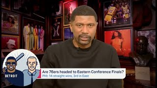 Jalen Rose: Ben Simmons 'is playing like a modern-day Magic Johnson' | Jalen & Jacoby | ESPN