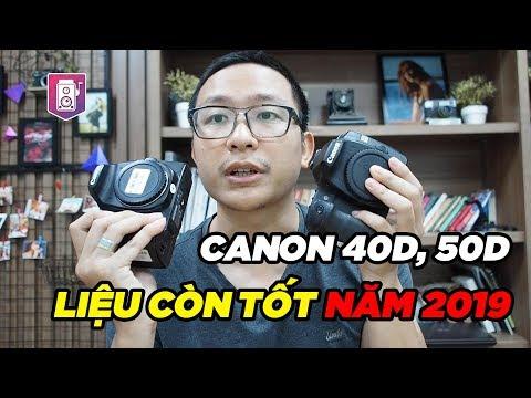 Canon 40d- 50d ✅máy ảnh Giá Rẻ  Hợp Cho Người Mới Chơi - Máy ảnh Cũ Hà Nội