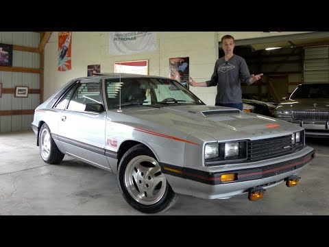 The Mercury Capri RS Turbo is the Weirdest Fox Body Mustang