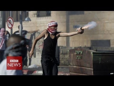 On the frontline in East Jerusalem - BBC News