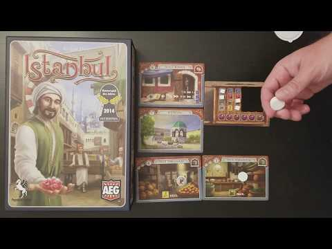 Istanbul board game gameplay basics and review