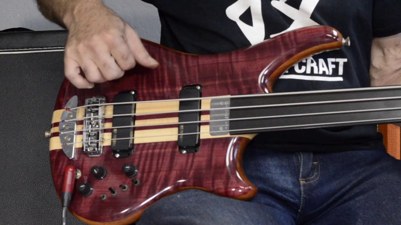 Alembic Essence Custom Bass Demo