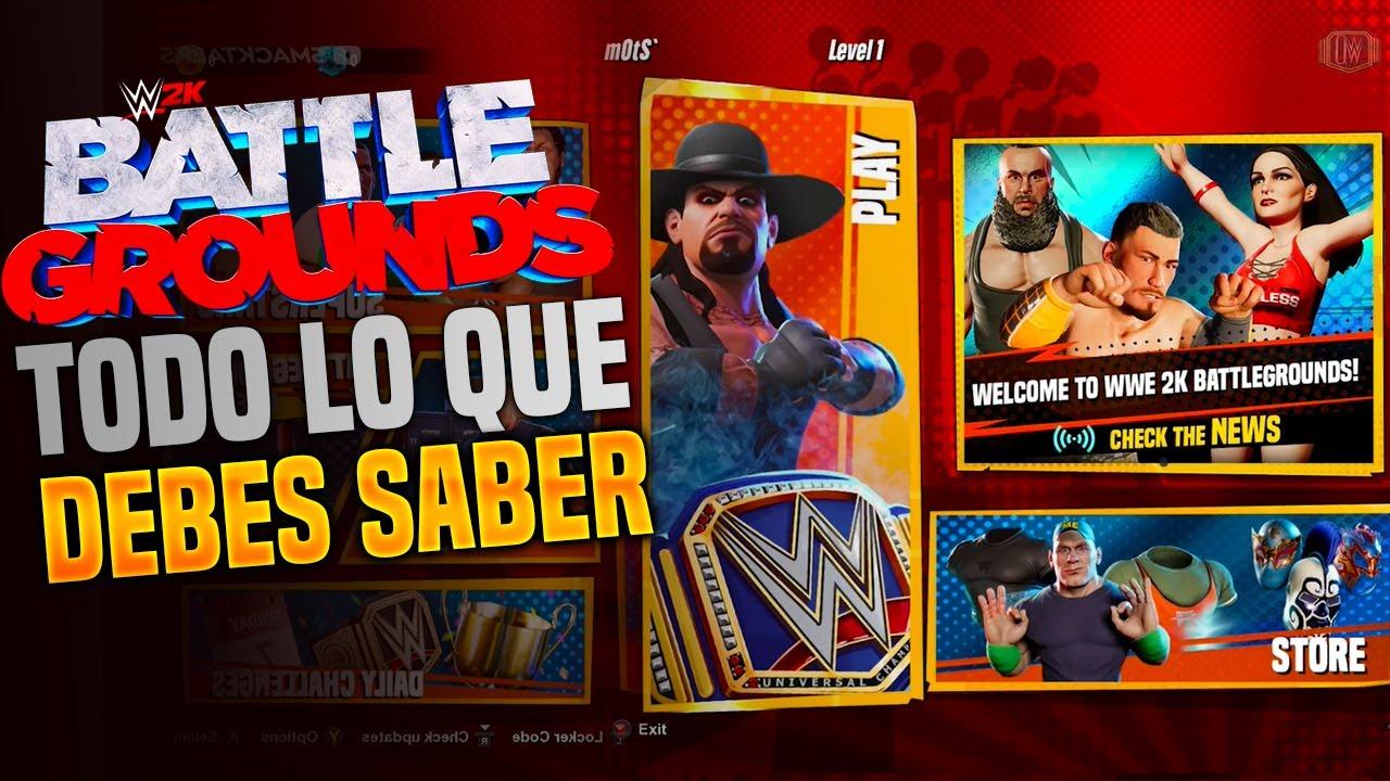 TODO lo que TIENES que SABER de WWE 2k Battlegrounds