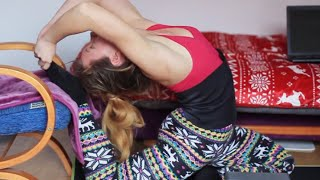 Back Stretches/Contortion Training/Backbending
