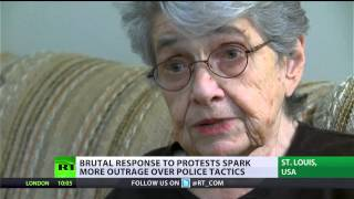 Holocaust survivor arrested in Ferguson: