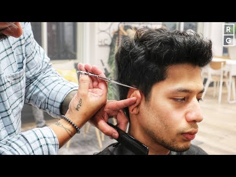 Messy Bed Head Quiff Men's Hairstyle With Easy To Style Natural Look