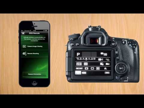 Canon 70D tip #3: Connect to iPhone via Wifi