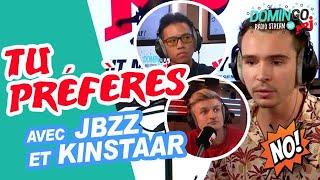 Tu préfères.. avec Kinstaar & Jbzz - DominGo Radio Stream sur NRJ