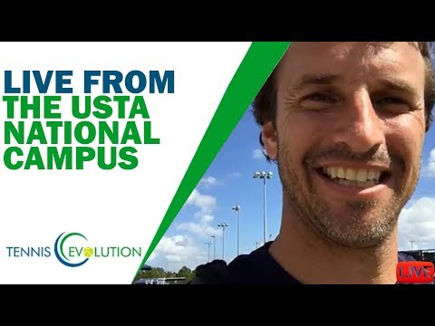 Live from the USTA National campus