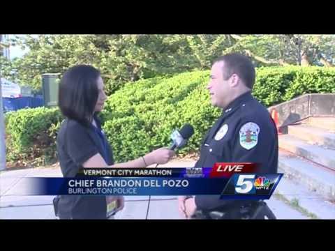 Chief Brandon del Pozo details police preparedness for Vermont City Marathon
