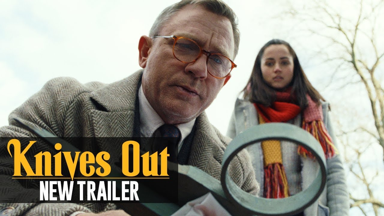 Knives Out trailer door Rian Johnson