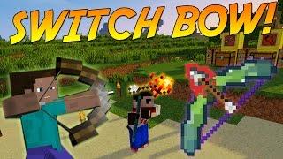 Switch Bow! [Epic Bow Mod!] 1.11 | Minecraft Mod Showcase!