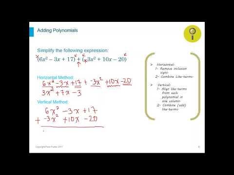 Algebra I Unit 1 Important Operations - Webinar Part 1/2