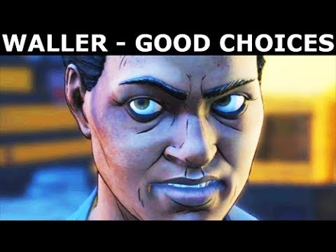 Amanda Waller - Good Choices & Best Outcome - BATMAN Telltale Season 2 The Enemy Within
