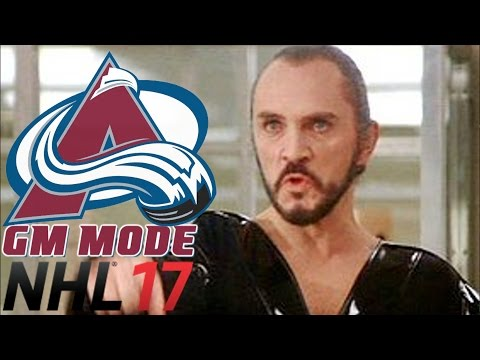 ZODs TURN - NHL 17 - GM Mode Commentary - Colorado ep. 32