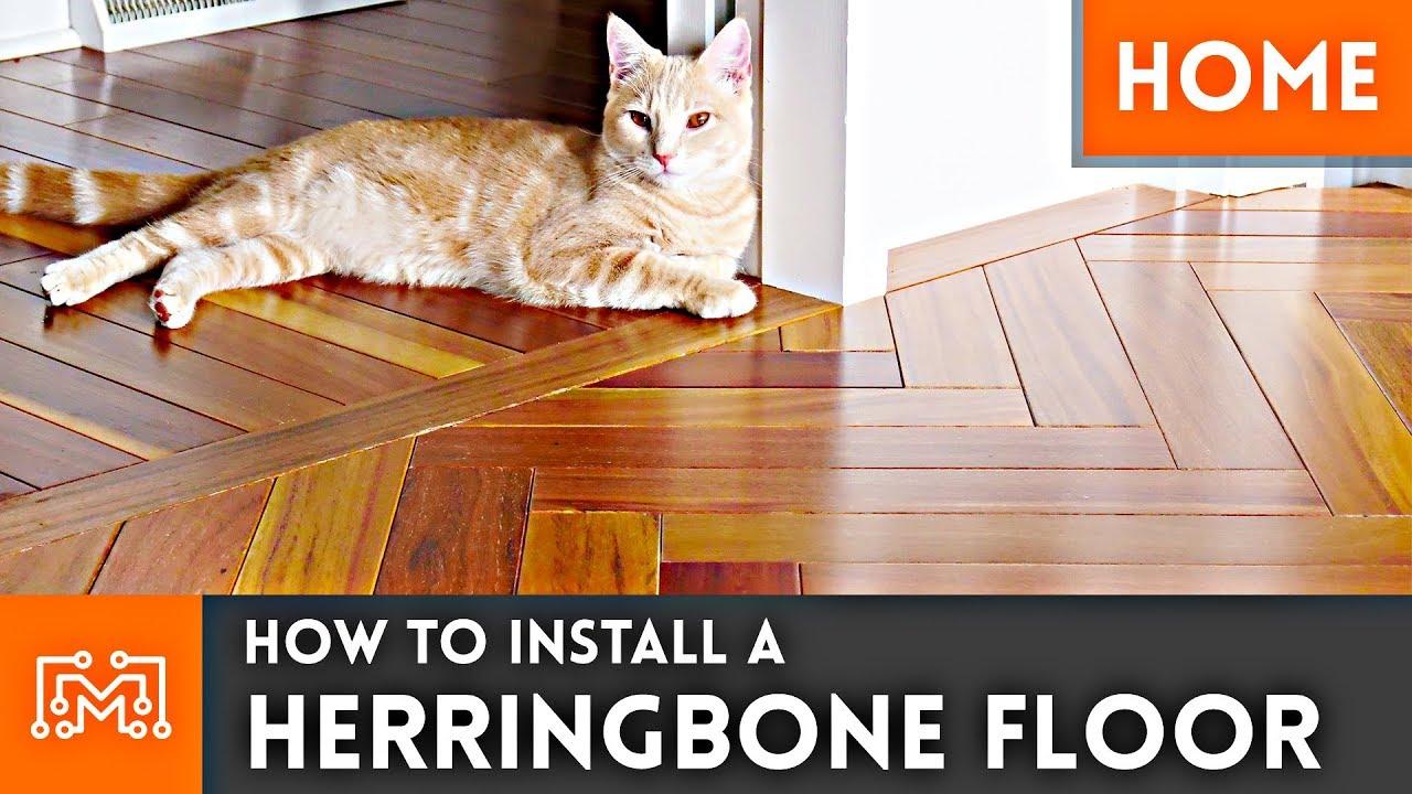 How To Install a Herringbone Wood Floor