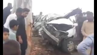 Son of Qamar Zaman Kaira Died || Road Accident ||  Last Footage || Osama Qaira Died || 17 May 2019
