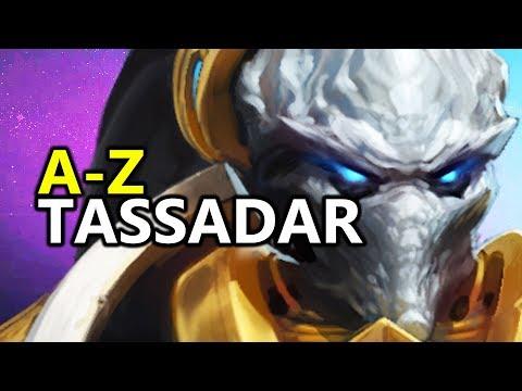 ♥ A - Z Tassadar - Heroes of the Storm (HotS Gameplay)