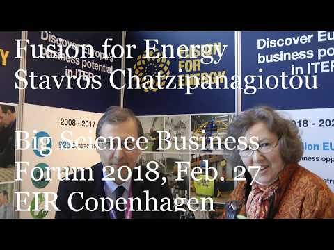 Fusion for Energy, Stavros Chatzipanagiotou, Big Science Business Forum 2018, EIR Copenhagen