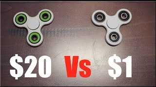 $20 vs $1 Fidget Spinner