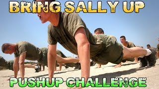 Bring Sally Up Bring Sally Down Pushup Challenge