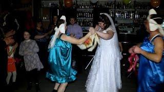 Свадьба Виктора и Екатерины.  Выкуп букета невесты.