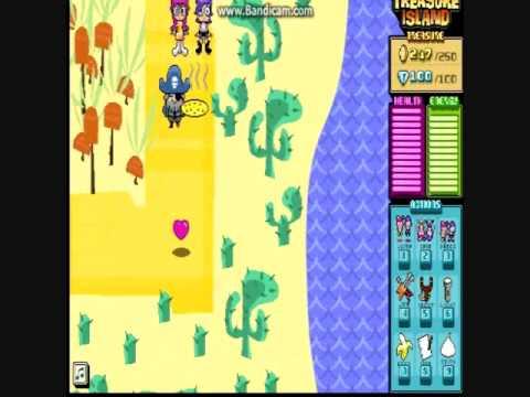 Hi Hi Puffy Amiyumi Treasure Island Game