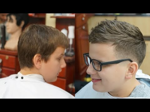 Trending Haircut for Teenage Boys Tutorial